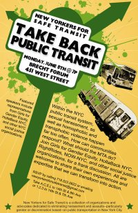 TakeBackPublicTransitJune8EventNYC